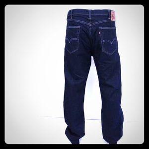 LEVIS Brand 505 Straight Leg Men's Jeans